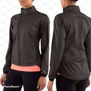 Lululemon Run Black Reflective Jacket